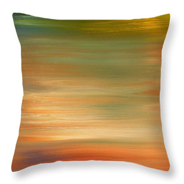 ABSTRACT 424 Throw Pillow by Patrick J Murphy