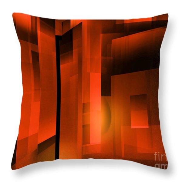 Abstract 500 Throw Pillow by John Krakora