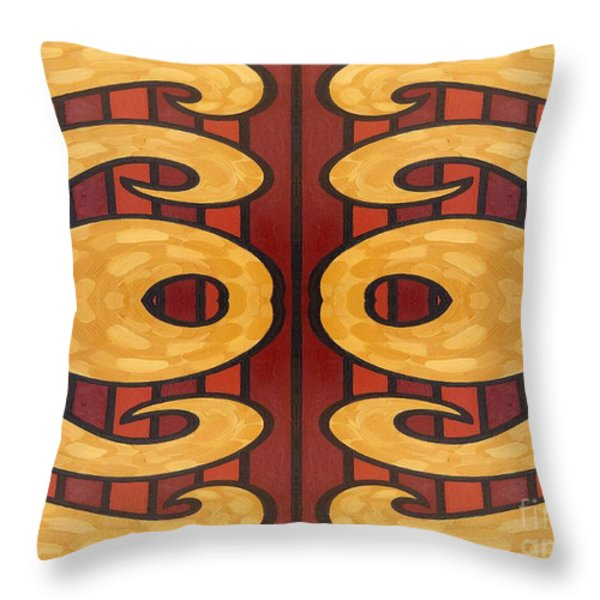 Abstract 66 Throw Pillow by Patrick J Murphy