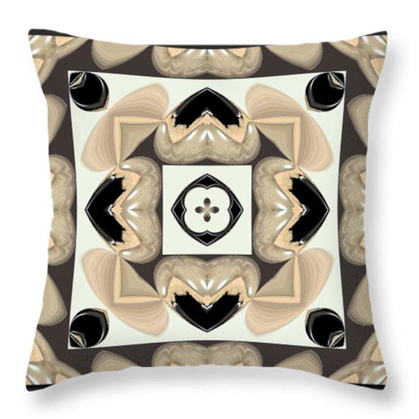 Abstract A029 Throw Pillow by Maria Urso