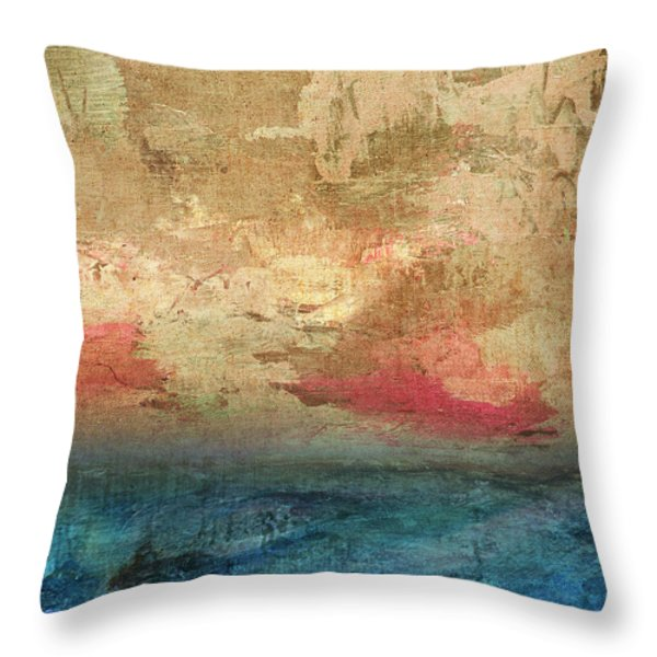 Abstract Print 3 Throw Pillow by Filippo B