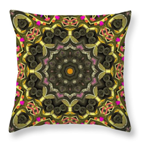 Abstract Rhythm - 27 Throw Pillow by Hanza Turgul