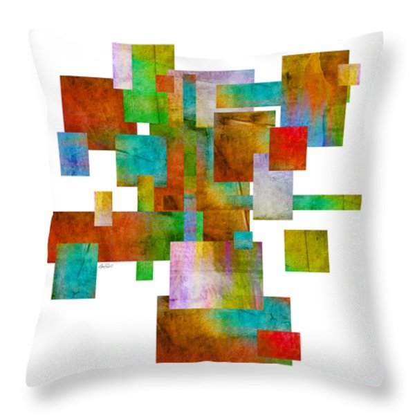 Abstract Study 22 Abstract- Art Throw Pillow by Ann Powell