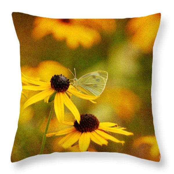 Abundance Throw Pillow by Lois Bryan