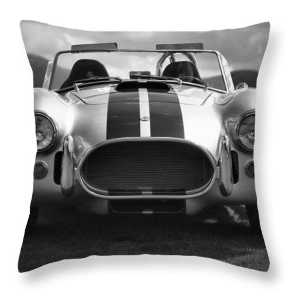 AC Cobra 427 Throw Pillow by Sebastian Musial