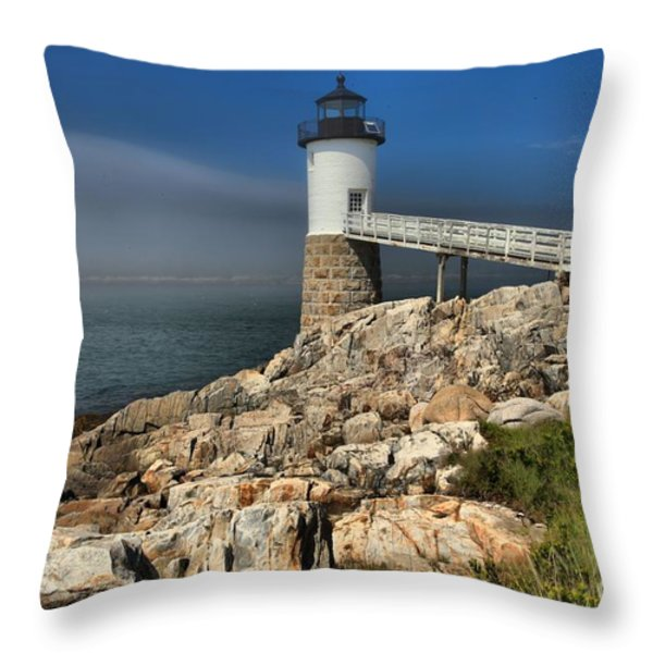 Across The Seas Throw Pillow by Adam Jewell