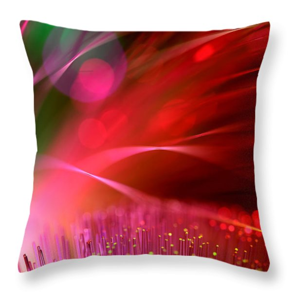 Across The Universe Throw Pillow by Dazzle Zazz