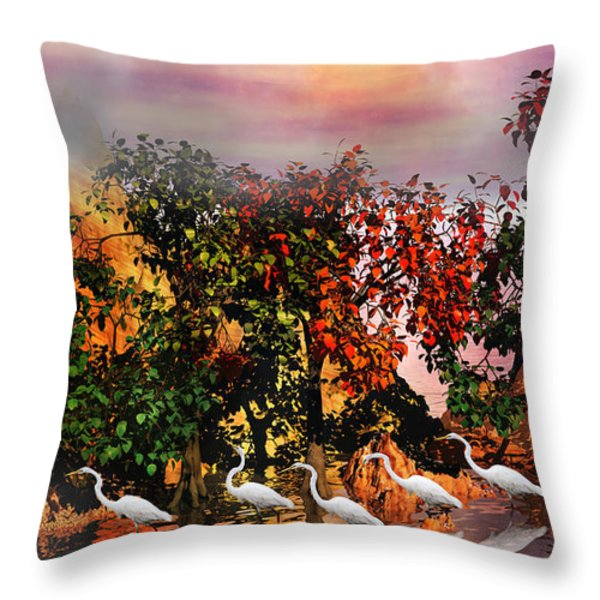 Adventure Pros Throw Pillow by Betsy A  Cutler