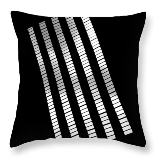 After Rodchenko 2 Throw Pillow by Rona Black