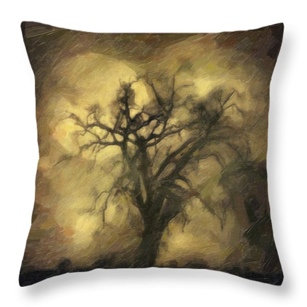 After Throw Pillow by Taylan Soyturk