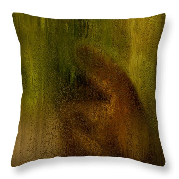 After The Goodbye  Throw Pillow by Jack Zulli
