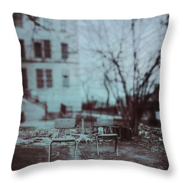 After The Storm Throw Pillow by Margie Hurwich