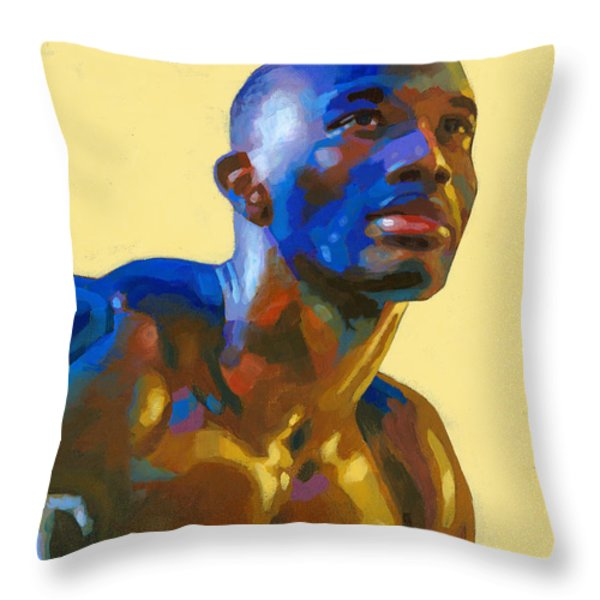 Afternoon Colors Throw Pillow by Douglas Simonson