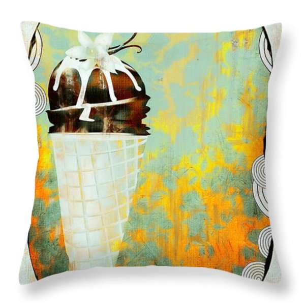 Afternoon Delight  Throw Pillow by Liane Wright
