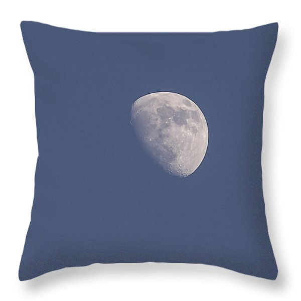 Afternoon Half Moon Throw Pillow by Angela A Stanton
