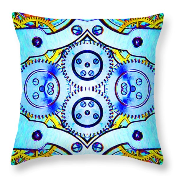 Age Of The Machine 20130605 vertical Throw Pillow by Wingsdomain Art and Photography