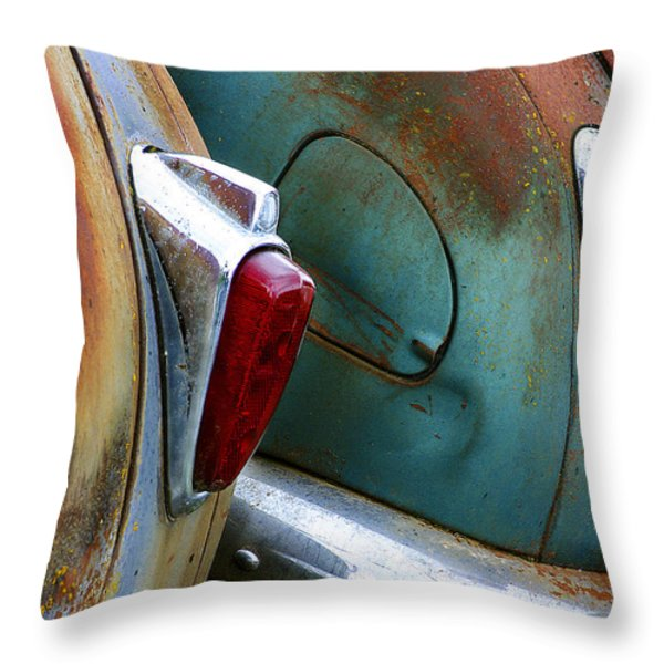 Aging Lovers Throw Pillow by Jean Noren