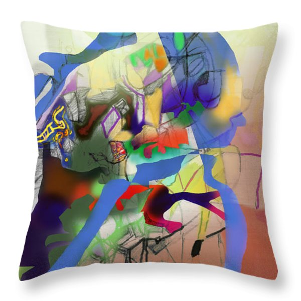 aging process 9g Throw Pillow by David Baruch Wolk