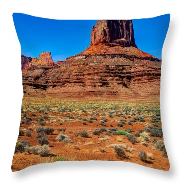 Airport Tower II Throw Pillow by Chad Dutson