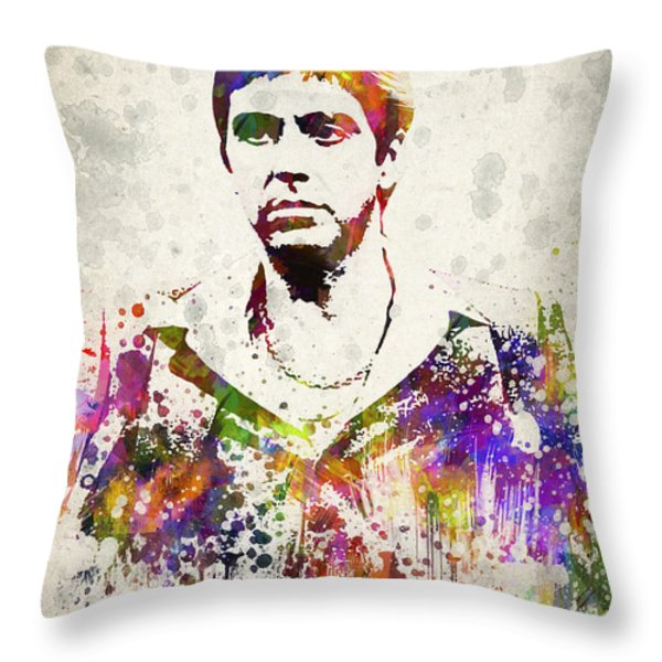 Al Pacino Throw Pillow by Aged Pixel