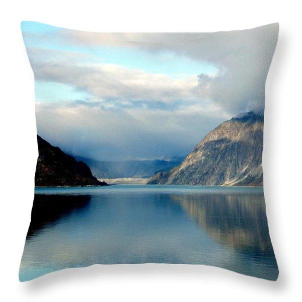 Alaskan Splendor Throw Pillow by Karen Wiles