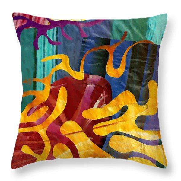 Alegria Throw Pillow by Sarah Loft