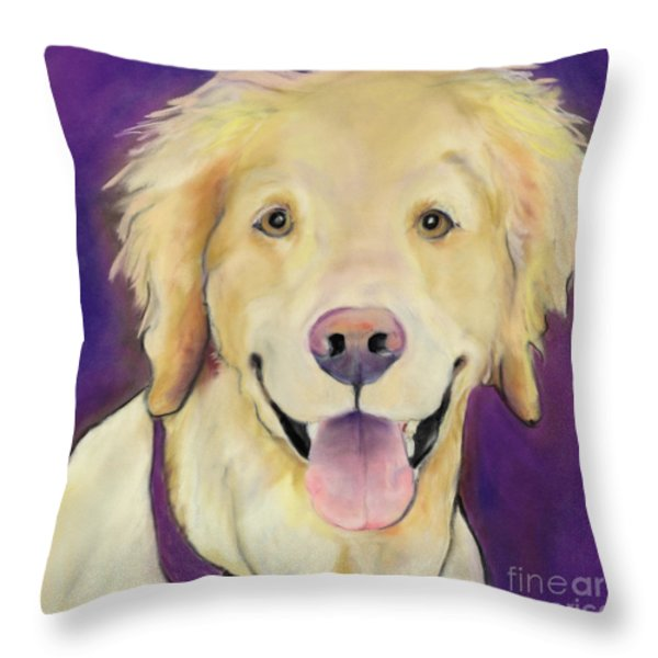 Alex Throw Pillow by Pat Saunders-White