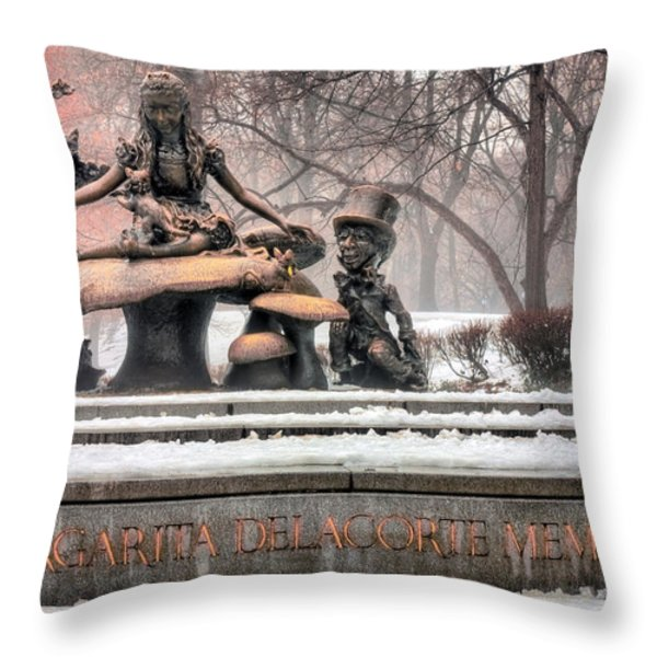 Alice  Throw Pillow by JC Findley