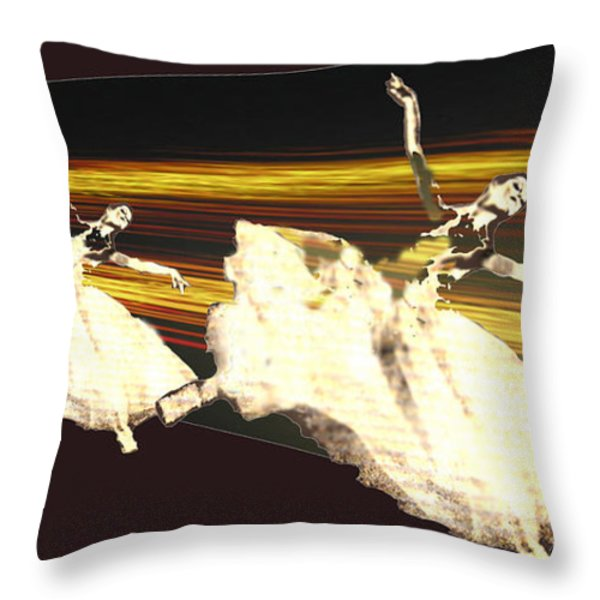 Alive In The Music Throw Pillow by Seth Weaver
