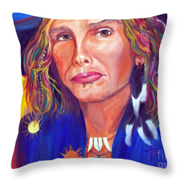 Alive Throw Pillow by To-Tam Gerwe
