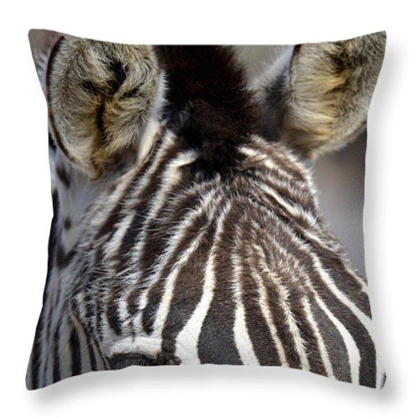 All Ears Throw Pillow by Maria Urso