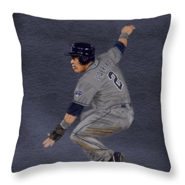 All-Star Everth Throw Pillow by Jeremy Nash