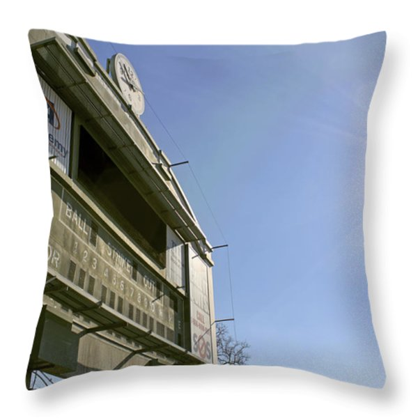 All That Remains Of Ray Winder Field Throw Pillow by Jason Politte
