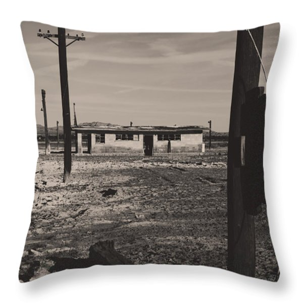 All That's Left of Us Throw Pillow by Laurie Search