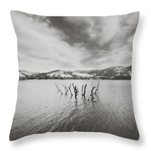 All Together Now Throw Pillow by Laurie Search