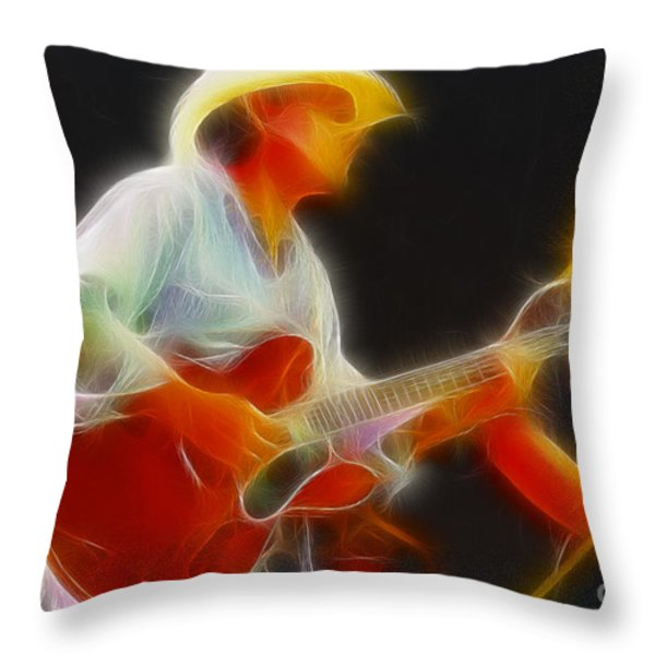 Allman-dickie-95-gc2-fractal Throw Pillow by Gary Gingrich Galleries