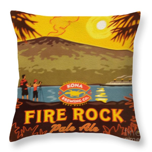 Aloha Series 3 Throw Pillow by Cheryl Young