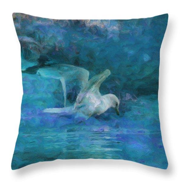 Alone Throw Pillow by Jack Zulli