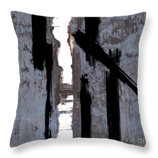 Alternative Edge Il Throw Pillow by Paul Davenport