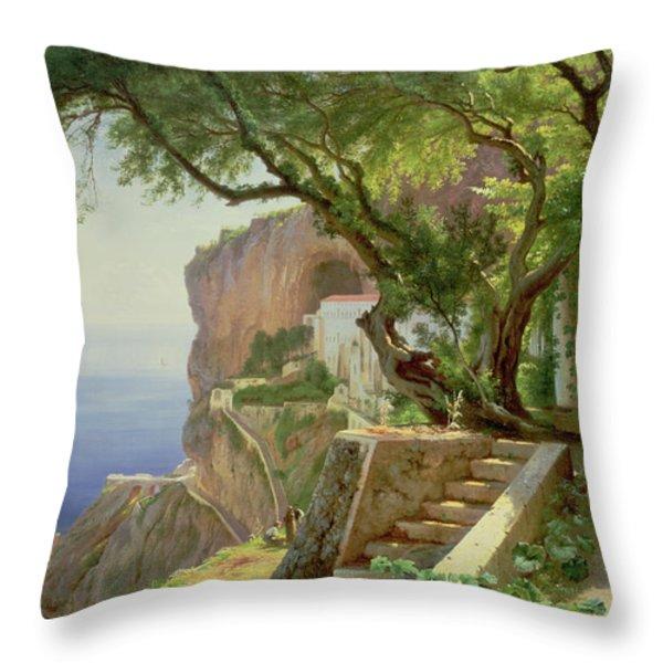 Amalfi Throw Pillow by Carl Frederick Aagaard