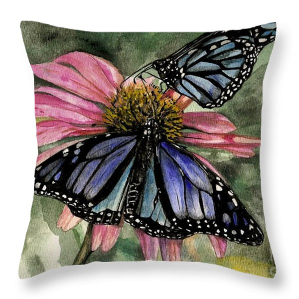 Amazing Throw Pillow by Laneea Tolley