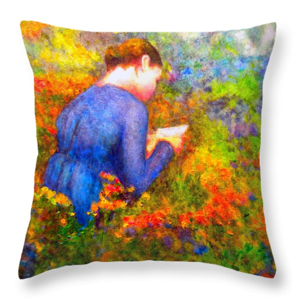 Ambrosia's Love Letter Throw Pillow by Michael Durst