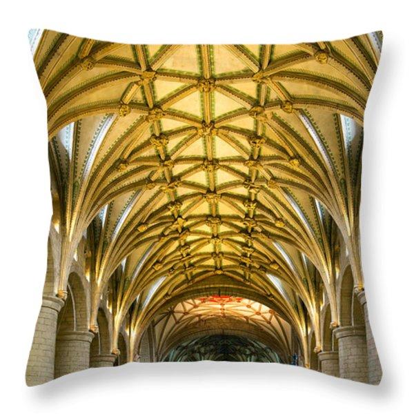 Amen Throw Pillow by Gabriela Wernicke-Marfo
