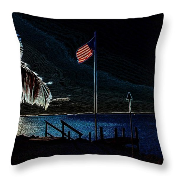 America all the Way 8 Throw Pillow by Rene Triay Photography