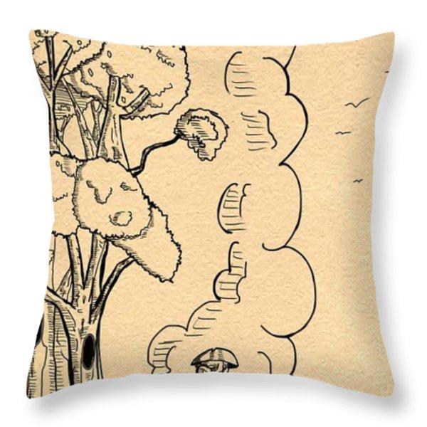 American Revolution Throw Pillow by Reynold Jay