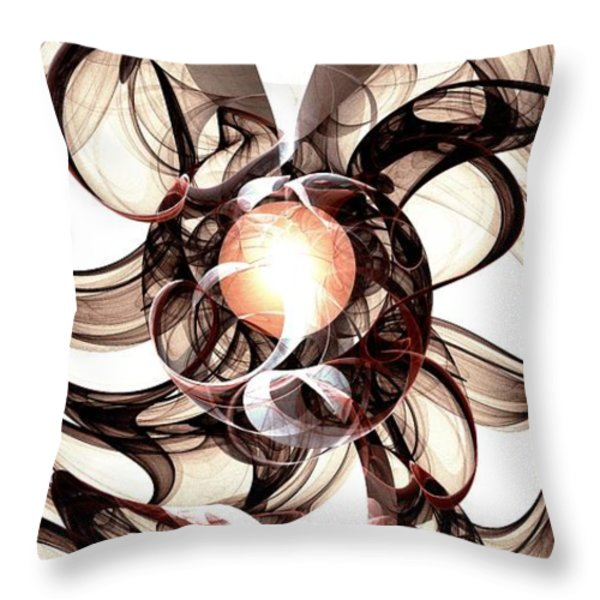 Amulet of Chaos Throw Pillow by Anastasiya Malakhova