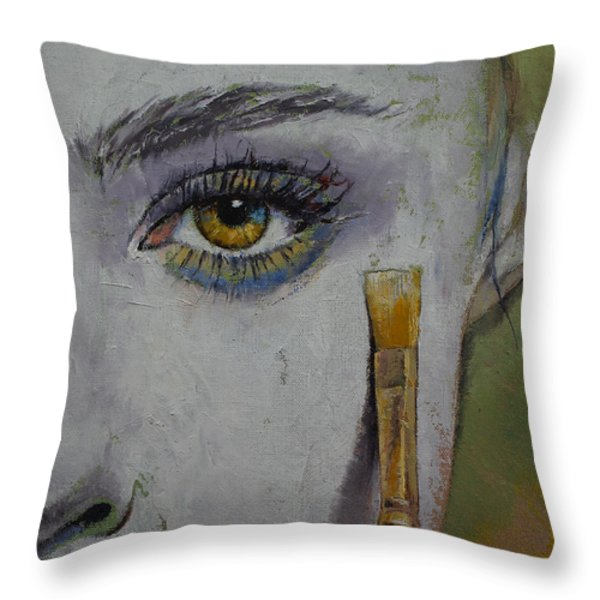 Andromeda Throw Pillow by Michael Creese