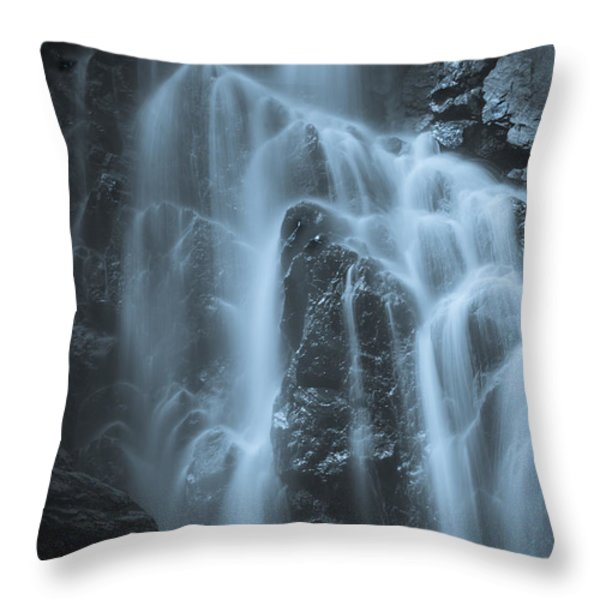 Angel Falls Throw Pillow by Alana Ranney