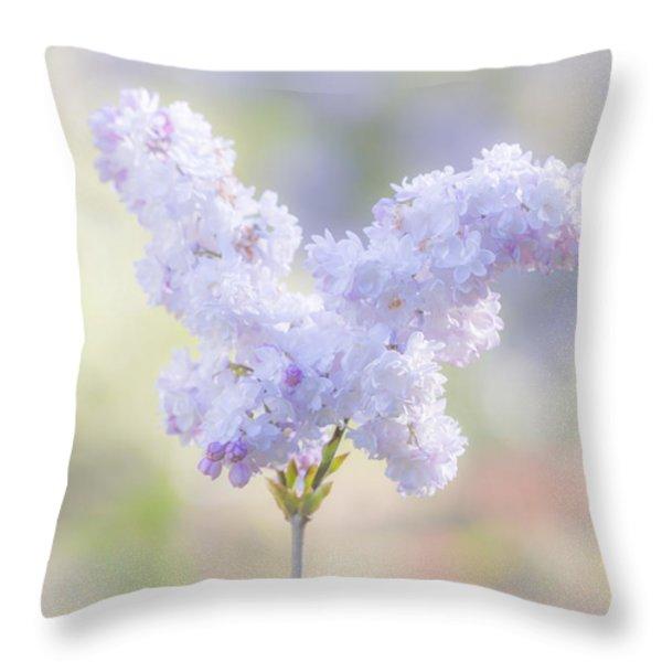 Angela Throw Pillow by Elaine Teague