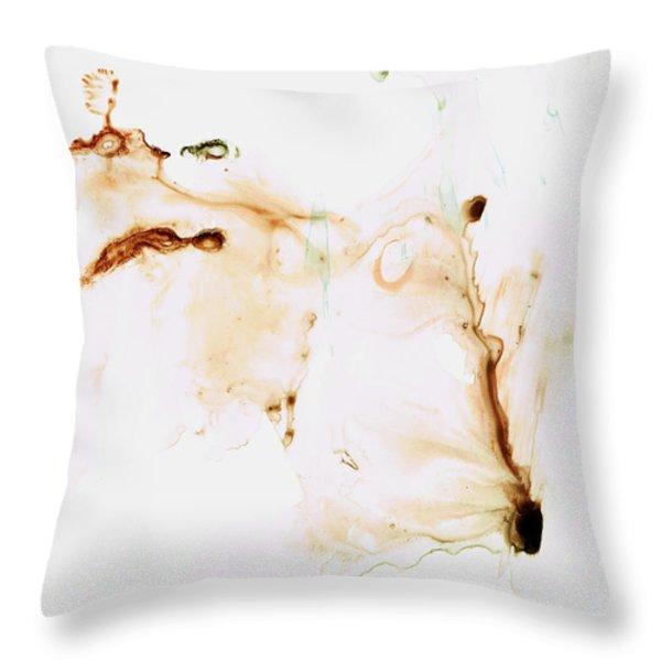 Angel's Breath Spiritual Art Throw Pillow by Sharon Cummings